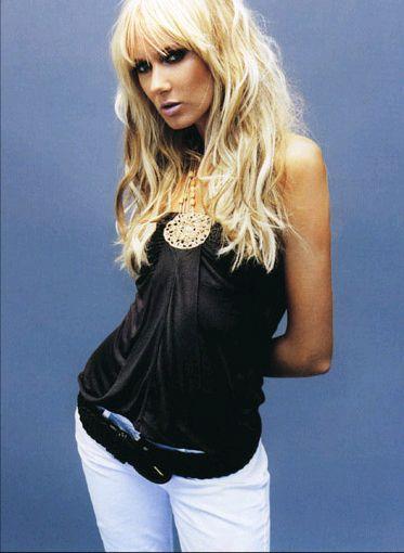 Rock yıldızı Rod Stewart'ın kızı Kimberly Stewart